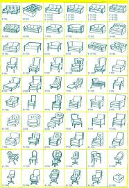 Chair Styles Guide For Recovering Furniture Tells You How Many Yards Of Fabric To Buy