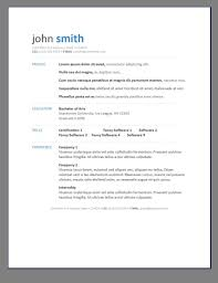 Good Resume Templates Free by Astounding The Best Cv Resume Templates 50 Examples Design Shack