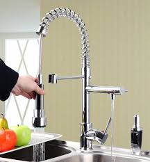 best pull out spray kitchen faucet best pull out down swivel 360 spray kitchen sink 8525s chrome