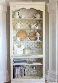 how to paint a shabby chic bookcase furniture stencils u0026 chalk