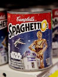 darth vader showerhead and other products only star wars geeks star wars campbell s spaghettios 1 89 campbell s