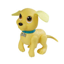 5 5 yellow puppy dog paddle tails wind up swimming pool water toy