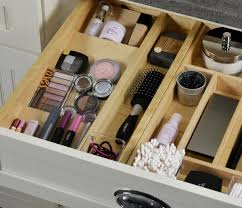 Spice Rack In A Drawer How To Organize Bathroom Drawers Bathroom Cabinetry