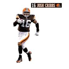 Cleveland Browns Home Decor by Josh Cribbs Fathead Jr Nfl Browns Football Wall Sticker Obedding Com