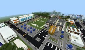 minecraft sports stadium big city minecraft map android apps on google play