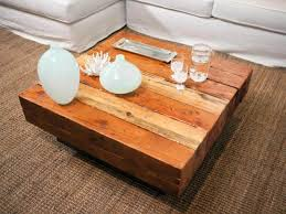 coffee table industrial reclaimed wood square end table dmt 088