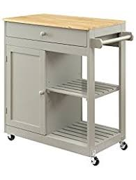 butcher block portable kitchen island kitchen islands carts amazon com