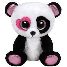 ty beanie boos valentine fluffy pink lion mandy panda sherbet