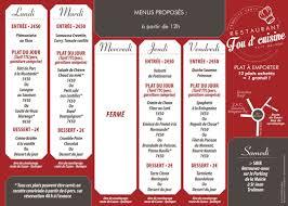 cuisine quimper fou d cuisine à quimper carte menu et photos