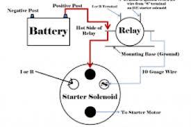 12 volt starter solenoid wiring diagram 12 volt coil wiring