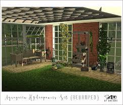 ts2 to ts4 aquagreen hydroponics set revamped sims 4 designs