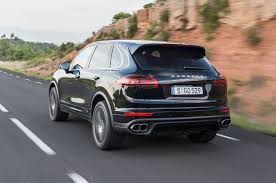 porsche suv blacked out 2015 porsche cayenne s turbo review