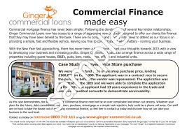 commercial mortgage advertising template bridging loan advert