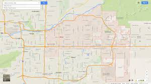 mesa az map mesa arizona map