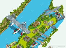 New York Sightseeing Map by Rod Hunt Illustration Studio Illustration And Maps Portfolios