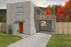 cool modern house plans for narrow lots time to build