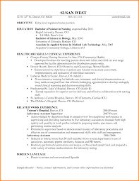 Sample Resume Of Nursing Assistant by Entry Level Resume Sample Loi Samples Resume Writing Service