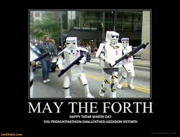 Star Wars Stormtrooper Meme - vh may the forth star wars funny movies stormtrooper