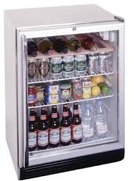 summit scr600bl css undercounter glass door refrigerator 24