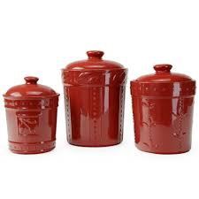 Kitchen Canisters Walmart Red And White Kitchen Canisters Detrit Us