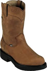 justin boots justin aged bark double comfort waterproof work boots