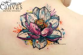 23 lotus tattoos design pictures and images ideas