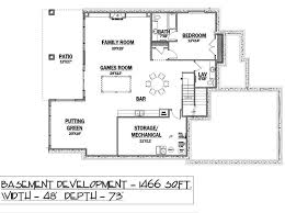 Bungalow Floor Plans With Basement House Plan 81124 At Familyhomeplans Com
