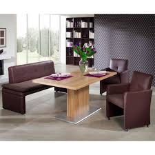 Design Esszimmer Bank Esszimmer Tischgruppe Mit Bank In Braun Loriota Pharao24 De