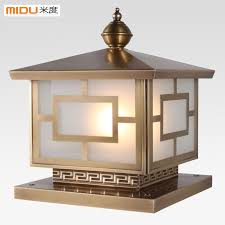 Outdoor Pillar Lights Wall Light Fittings Lighting And Ceiling Fans