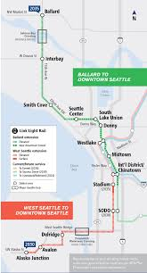Bike Master Plan West Seattle Sodo And South Park by Seattle Map Transportation