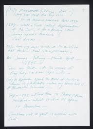 Best Resume Joke by Tracey Emin C V U0027 Tracey Emin 1995 Tate