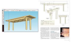 woodworking design plans in sketchup