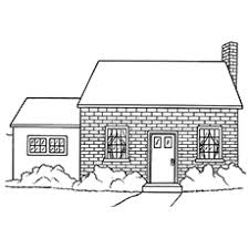 dog house coloring pages top 20 free printable house coloring pages online
