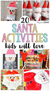 20 santa claus activities for kids proud to be primary