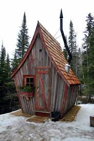 the rustic way whimsical huts built with reclaimed wood wood