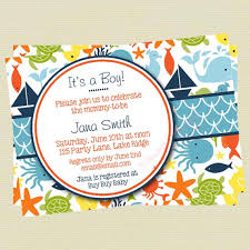 the sea baby shower invitations boy baby shower invitation the sea baby shower sea