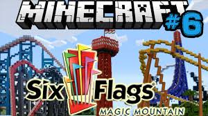 Magic Mountain Map Six Flags Magic Mountain Minecraft Edition Update 6 Youtube