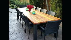 large outdoor dining table outdoor dining table wood promotop info