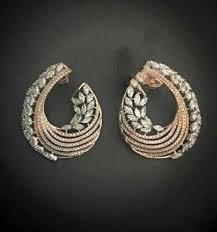 diamond earrings designs gold diamond earring designs jewellery design for