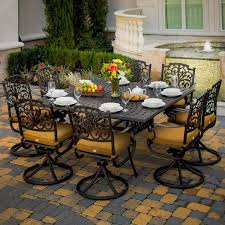 Aluminum Patio Dining Set 118 Best Patio Furniture Images On Pinterest Patio Dining Sets