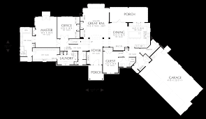 Mountain Home Floor Plans Mascord House Plan 22156e The Deschutes