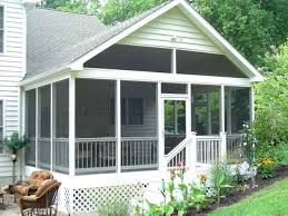 house house plans with screened porch