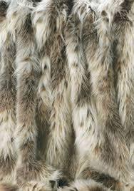 Cheap Faux Fur Blanket Russian Lynx Faux Fur Fabric Yardage