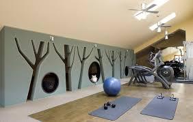 Mountain Retreat - Home gym interior design
