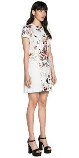 cue dress cue tropical crepe dress australian clothing