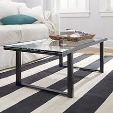 crate and barrel accent tables parsons square coffee table with grey glass top console tables