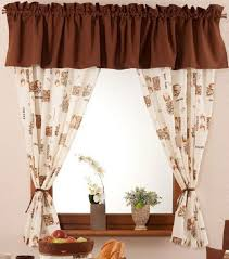 Coffee Themed Curtains Brilliant Kitchen Curtains Wine Theme Designs With Best 25 Cafe