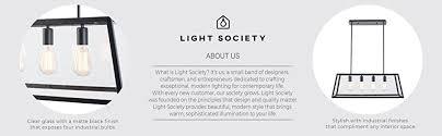 Black Chandelier Ls Light Society 4 Light Morley Chandelier Matte Black With Clear
