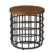 Industrial Accent Table End Tables Living Room Furniture Affordable Modern Furniture