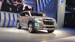 subaru viziv 2016 viziv 7 concept previews upcoming subaru suv with 7 seats